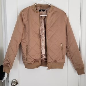 Jackets & Blazers - Brown Bomber Jacket